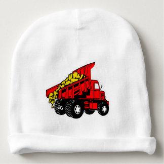 Truck red   boys trucker baby beanie