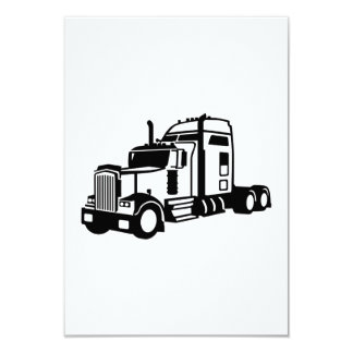 Truck vehicle card