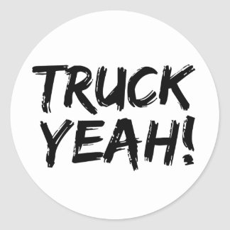 Truck Yeah Stickers