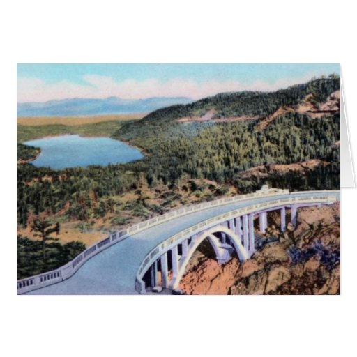 Truckee California Donner Lake Greeting Cards