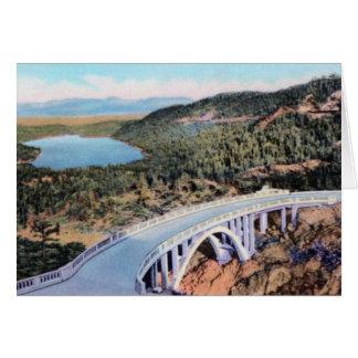Truckee California Donner Lake Greeting Card