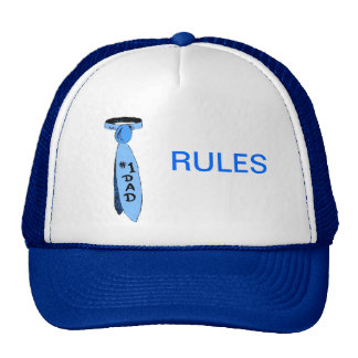 Trucker Cap - #1 Dad Rules Trucker Hat