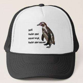 Trucker cap penguin 01
