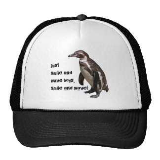 Trucker cap penguin 01