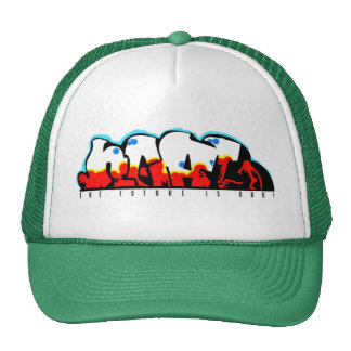 Trucker Graffiti Caps Cap