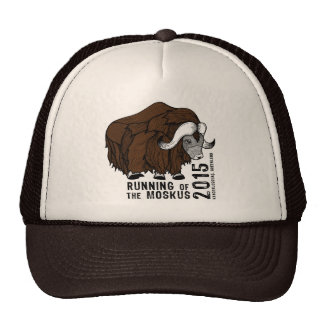 Trucker Hat- 2015 Running of the Moskus Cap