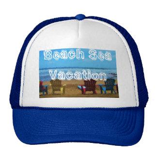 Trucker Hat Beach Sea Vacation