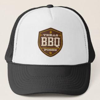 Trucker Hat Black - Texas BBQ Posse