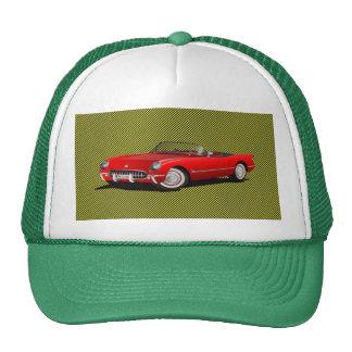 Trucker Hat corvette by highsaltire