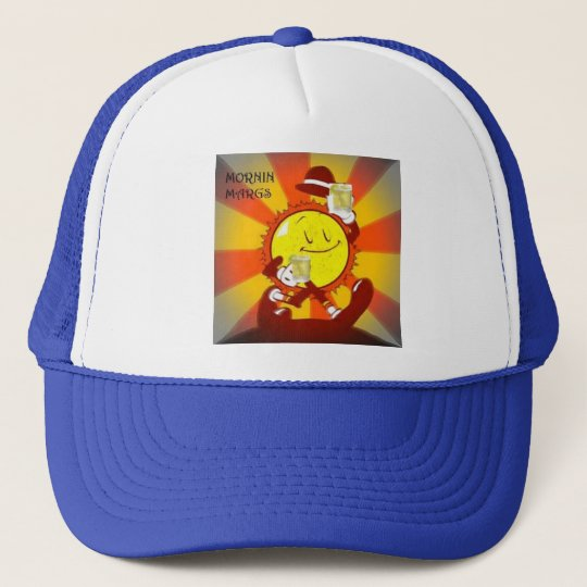 Trucker hat featuring Sunny