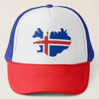 Trucker Hat/Iceland Europe Flag Trucker Hat
