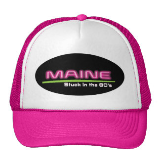 Trucker Hat MAINE STUCK IN THE 80'S
