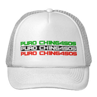 Trucker Hat-Mexican colors CHINGASOS