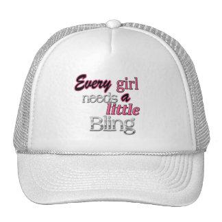 Trucker Hat Need Bling White
