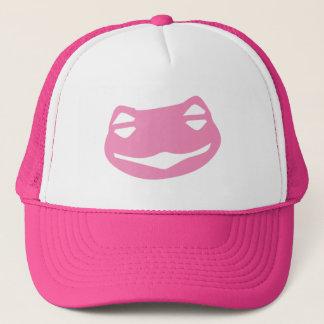 Trucker Hat Pink Frog Keksitan MAGA