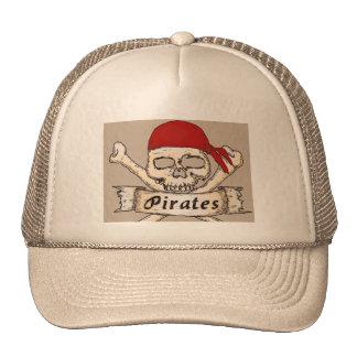 TRUCKER HAT   PIRATES