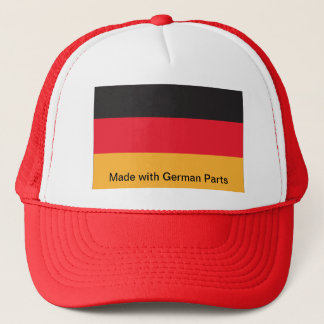 Trucker Hat Proud to be Made with German Parts