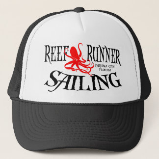 Trucker Hat - Reef Runner Sailing Octopus