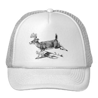 Trucker Hat/Running Buck Cap