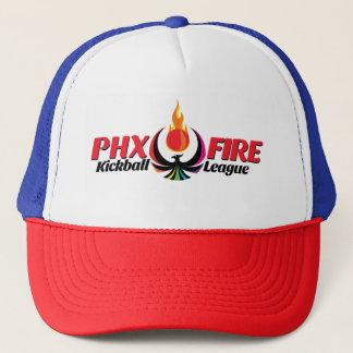 Trucker Hat RWB (Phoenix Fire)