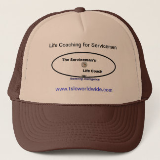 Trucker Hat - The Serviceman's Life Coach - Cap