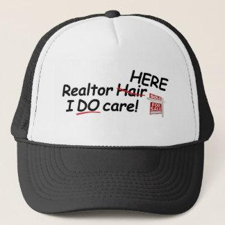 TRUCKER HAT W/REALTOR SLOGAN