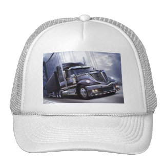 trucker hat with a nice looking truck