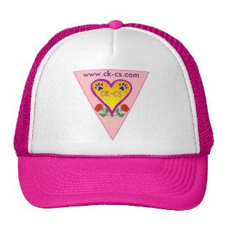 trucker hat with ckcs design logo