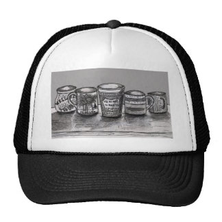 Trucker Hat with Coffee Theme