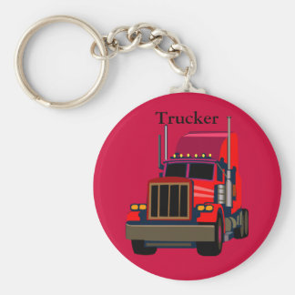 Trucker Keychain