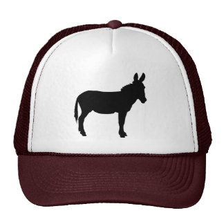 Trucker style cap with donkey logo in 11 colours!!