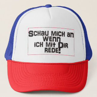Truckerkappe exhibition me on if I with you talks! Trucker Hat