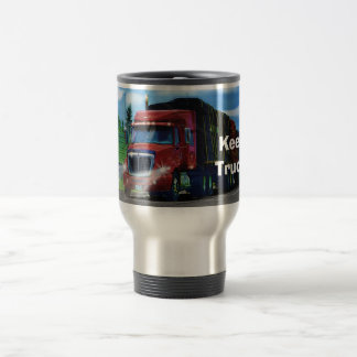 Truckers Big Rig Cargo Truck Coffee Mug