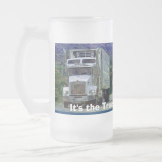 TRUCKERS BIG RIG TRUCK STOP COFFEE MUGS