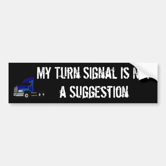 Truckers Bumper Sticker