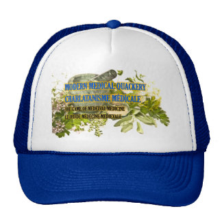 Truckers Cap Modern Medical Quackery Design