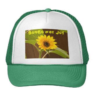 Truckers Cap -- Sunflower Joy Trucker Hats