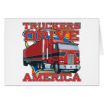 Truckers Drive America Cards