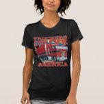 Truckers Drive America Tee Shirts
