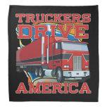 Truckers Drive America Truck Drivers Bandanna