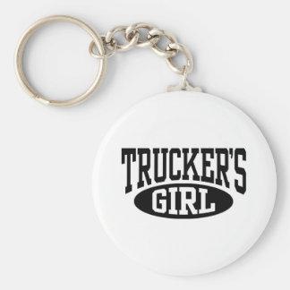 Trucker's Girl Key Ring