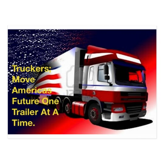 truckers.jpg postcard