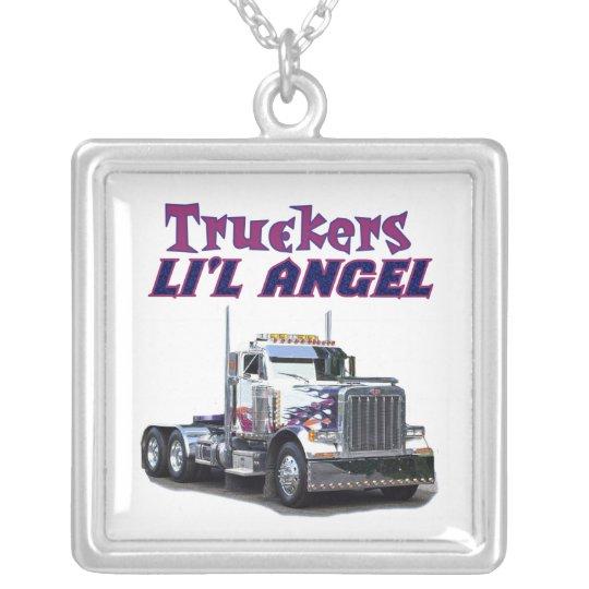 Trucker's L'il Angel Necklace