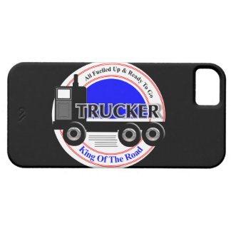 Truckers Novelty King Of The Road Graphic iPhone 5 Cover