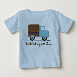 Truckin Along With Jesus T-shirts