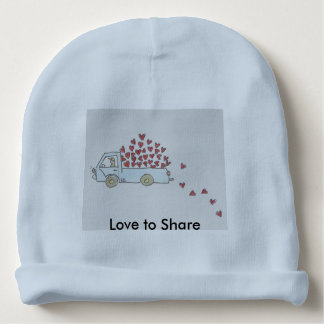 Truckload of Hearts Baby Hat Baby Beanie