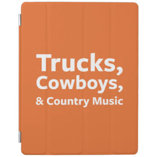 Trucks, Cowboys and Country Music iPad Cover