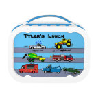 Trucks Truck Lovers Personalised Boys Lunch Box