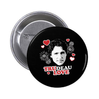 Trudeau Love -.png 6 Cm Round Badge