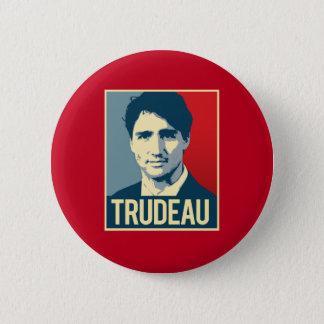 Trudeau Propaganda Poster -.png 6 Cm Round Badge